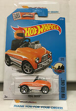 Pedal Driver #67 * Orange * 2016 Hot Wheels * N171