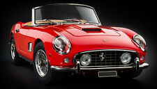 FERRARI 250 GT SWB CALIFORNIA SPYDER RED CMC M091  1:18 IN BOX RARE