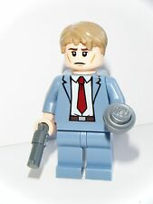 LEGO DC SUPERHEROES CUSTOM TWO FACE HARVEY DENT MINIFIGURE MADE OF LEGO PARTS