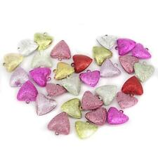 30pcs Mixed Jingle Bell Heart Bell Charms Pendant Jewelry DIY Findings 20mm