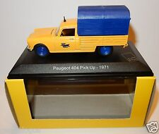 rare ELIGOR PEUGEOT 404 PICK-UP 1971 POSTES POSTE PTT 1/43 in box