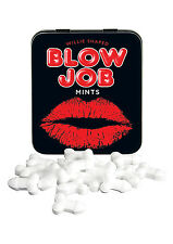 BLOW JOB MINTS TIN! Fun Mint Willie Shaped Willy Sweets RUDE FOOD Gift Sex Aid