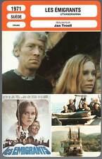 LES EMIGRANTS - Von Sydow,Ullmann(Fiche Cinéma) 1971 - The Emigrants/Utvandrarna
