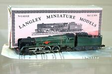 MINITRIX KIT BUILT LANGLEY BR MERCHANT NAVY CLASS LOCO UN NAMED  mz