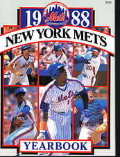 1988 New York Mets MLB Baseball YEARBOOK