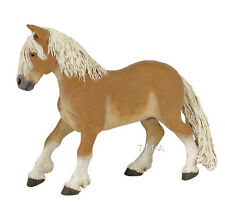 FREE SHIPPING | Papo 51118 Haflinger Pony Horse Play Figurine - New in Package