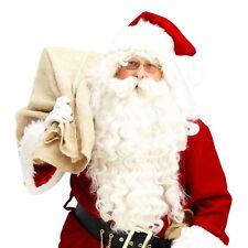 Neuf Père Noël Perruque + Barbe Set Noël Adulte Déguisement Accessoire Costume