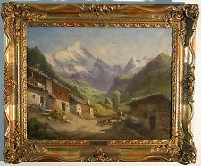 Georg Geyer (Wien 1823-1912 ebd.) Alpendorf