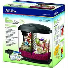 Aqueon Betta Bow 2.5 gallon LED Aquarium Kit complete with all the components