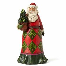 Jim Shore New 2016 ROOTED IN TRADITION Santa With Evergreen Figurine 4053706