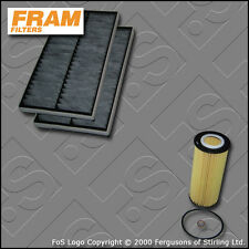 SERVICE KIT for BMW 5 SERIES 535D E60 E61 FRAM OIL CABIN FILTERS (2004-2010)