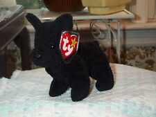 "TY Beanie Baby babies dog Scottie Scottish Terrier 6-15-1996 6 1/2"" long Scotty"