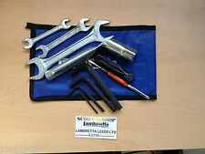 TOOL KIT BLUE POUCH FOR LAMBRETTA  SERIES 1 , 2 & 3 . GP-LI-SX-TV. NEW