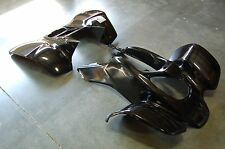 HONDA TRX 400EX 99 - 04 BLACK PLASTIC FRONT AND REAR FENDER SET TRX400EX