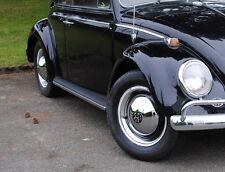 VW Käfer BUS Karmann Ghia Typ 3 Oldtimer 15 Zoll Felgenringe Edelstahl poliert