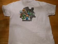 OFFICIAL MINECRAFT WHITE T-SHIRT SIZE: EXTRA LARGE