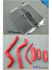 Aluminum Radiator and hose for HONDA CR500 CR500R 1991-2001 1992 1993 1994