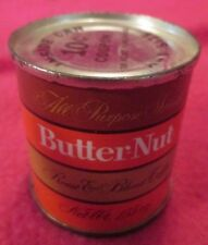 VINTAGE 1980'S MINIATURE BUTTER-NUT COFFEE CAN TIN UNOPENED 1.55 oz COCA COLA