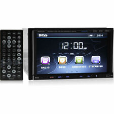 """NEW! Boss BV9757B Double Din Bluetooth DVD Car Stereo Receiver w/ 7"""" Touchscreen"""