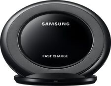 Samsung - Fast Charge Wireless Charging Stand - Black for Galaxy Note 5/S6/S7