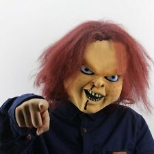 Scary Child's Play Mask Adult Latex Full Head Mask Halloween Props