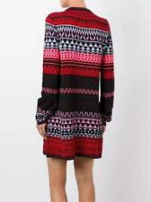 McQ Alexander Mcqueen NWT Fair Isle Wool Knit Tunic Long Sleeves Dress L