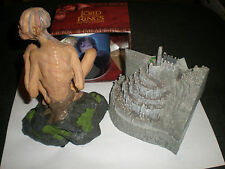 Lord of the Rings : Minas Tirith Keepsake Box + Golum + New Cup Weta