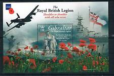 Gibraltar 2011 British Legion 1V MS 1389 MNH