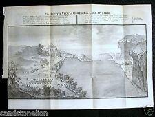 1700's Antique Map OSWEGO & LAKE ONTARIO CANADA GAVIT & DUTHIE Albany NY
