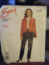 McCall's Stitch'n Save 8884 Misses Top & Pull-On Pants Pattern - Size 8/10/12/14