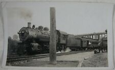 Vintage 1930's Snapshot 159 Train Steam Engine, OH