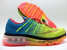 NIKE AIR MAX 2016 ID MULTI-COLOR/SPORT RED SIZE MEN'S 6/WOMEN 7.5 [839367-9