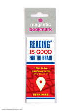 Brainbox Candy Reading novelty magnetic bookmark funny cheap present gift brain