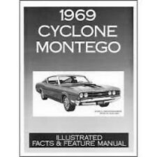 1969 Mercury Cyclone Montego Fact Feature Manual