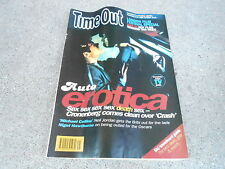 NOV 6 1996 TIME OUT UK tv entertainment magazine - AUTO EROTICA
