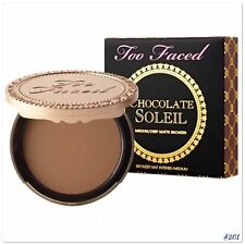 TOO FACED Soleil Matte Bronzer CHOCOLATE ~ Brand New In Box!