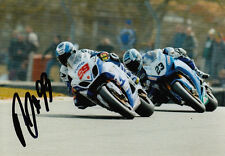 PJ Jacobsen 2013 Tyco Suzuki Hand Signed Photo 5x7 2.