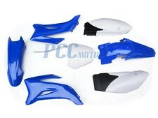 NEW YAMAHA TTR110 TTR 110 PLASTIC FENDER KIT BLUE 9 PS43