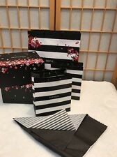 Sephora Empty Shopping Bags Gift Box  Paper Bag Tote Lot Of 4