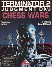 Terminator 2: Judgment Day: Chess Wars PC CD T2 movie based battle board game!