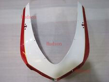 Front Nose Cowl Upper Fairing For DUCATI 848 1098 1198 R/S Red/White