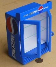 1:12 Scale Empty Two Door Pepsi Cooler Dolls House Shop Pub Drinks Accessory