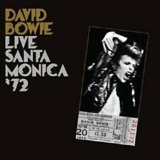 "DAVID BOWIE ""LIVE IN SANTA MONICA 72"" CD NEW+"