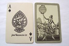 PLAYING CARDS VINTAGE SUPERB ART DECO PLAYERS WEIGHTS CIGARETTES PIERROT 1930s