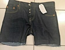 """Womens Levi 501 CT Button Fly Tapered Leg Shorts Size 29   35"""" Waist  NWT $50"""