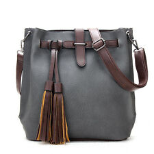 New Women Vintage Leather Satchel Handbag Shoulder Tote Messenger Crossbody Bag