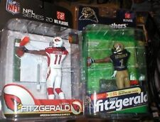 LARRY FITZGERALD  NFL PRO AND COLLEGE MCFARLANE FIGURES