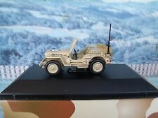 1/43 Victoria Jeep willys  Australian army 1944