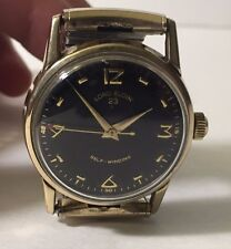 Rare 1961 Vintage Lord Elgin 654 Durapower 23 Jewels Wristwatch