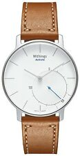 Withings activité activity and sleep tracker swiss made watch silver withings